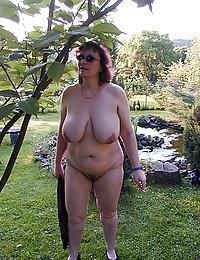 new posted pictures of my floppy tit mature wife naked