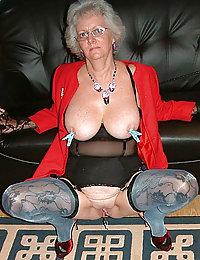 mature tits hairy granny mom